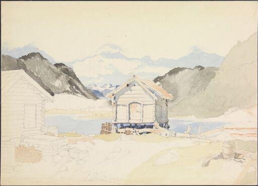 Stabbur på Dale i Telemark