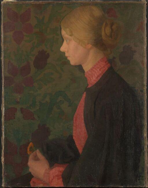 Kunstneren Ragnhild (Lalla) Hvalstad