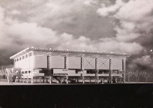 Skandinavias paviljong på Verdensutstillingen i Montreal 1967