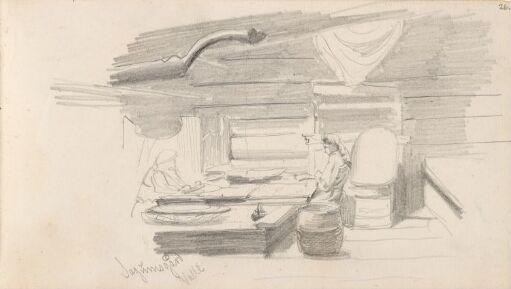 Figurer i interiør, Valle