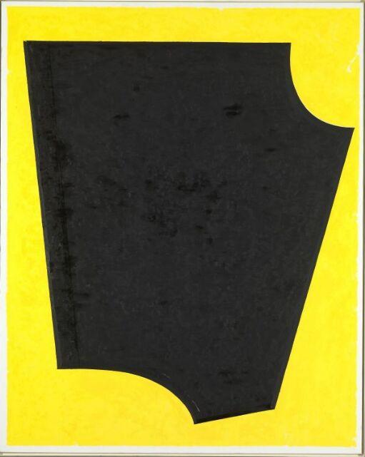 Gul-svart diptyk, del I