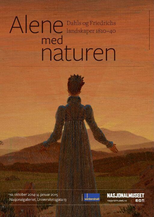 Alene med naturen. Dahls og Friedrichs landskaper 1810-40