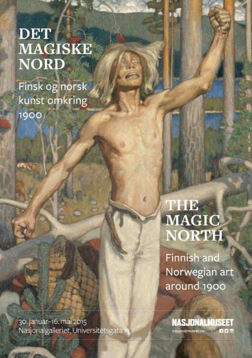 Det magiske nord. Finsk og norsk kunst rundt 1900