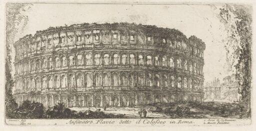 Det flaviske amfiteater, kalt Colosseum