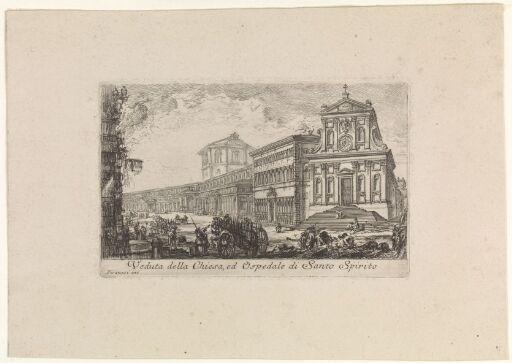 Kirken og hospitalet Santo Spirito