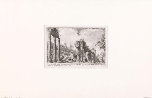 Levningene av Castor og Pollux-templet