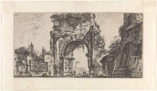 Drusus-buen ved Porta San Sebastiano