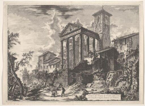 Herakles-templet i Cora