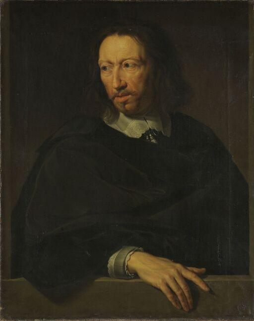 Mannsportrett. Kopi etter Philippe de Champaignes portrett i Louvre