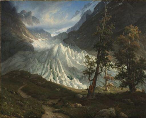 The Grindelwald Glacier