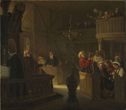 Gudstjeneste i en norsk landskirke