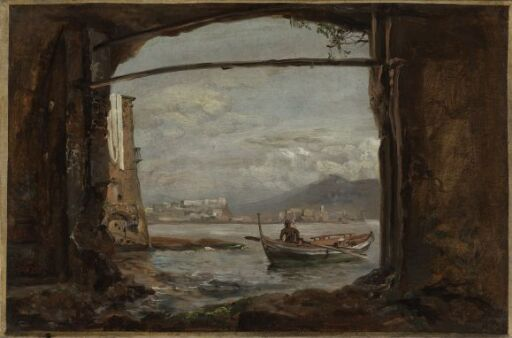 View from a grotto near Posillipo