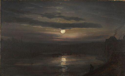 Måneskinn over Elben