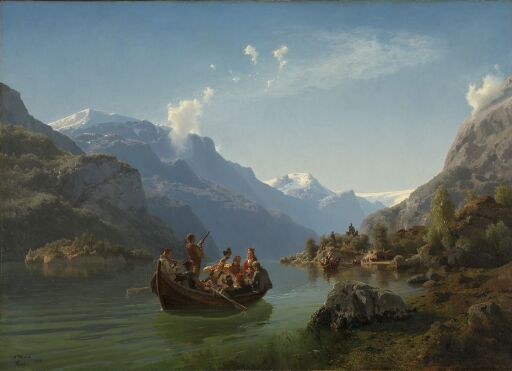 Bridal Procession on the Hardangerfjord