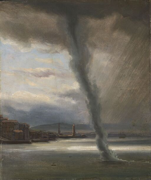 A Waterspout on the Bay of Naples