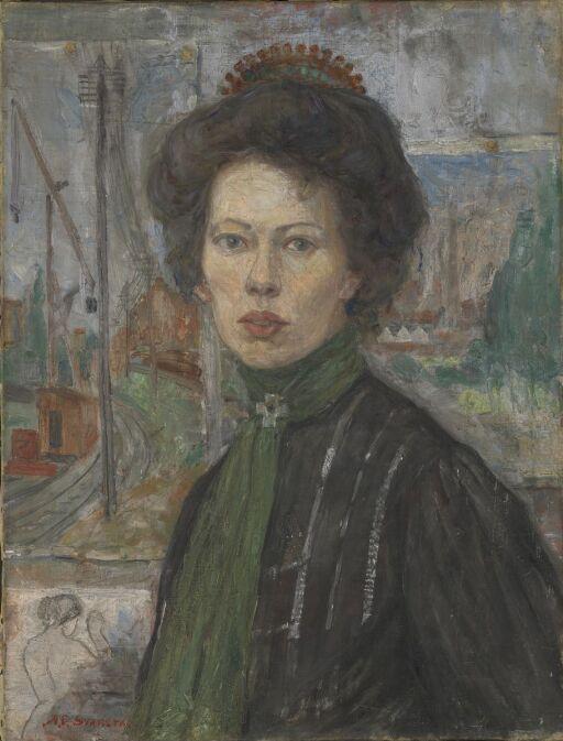 Den svenske malerinne Tora Holmström