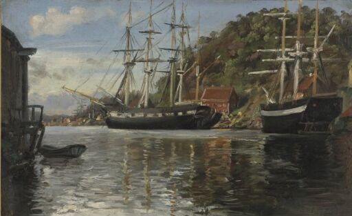 Fra Arendals havn