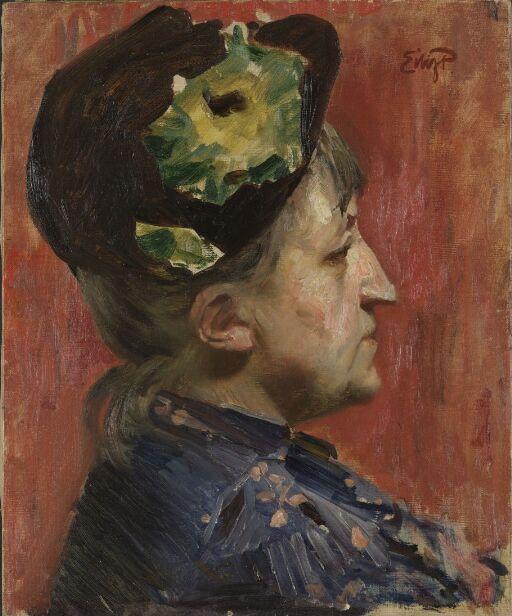 Malerinnen Kitty L. Kielland