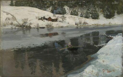 Vinter ved Simoa