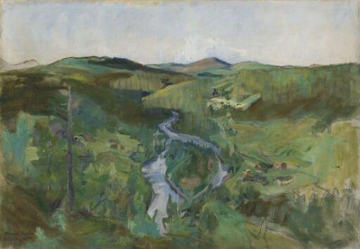 Landscape from Foldalen