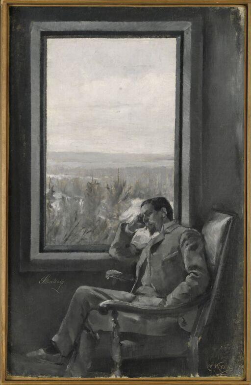 Portrait of the Painter Christian Skredsvig