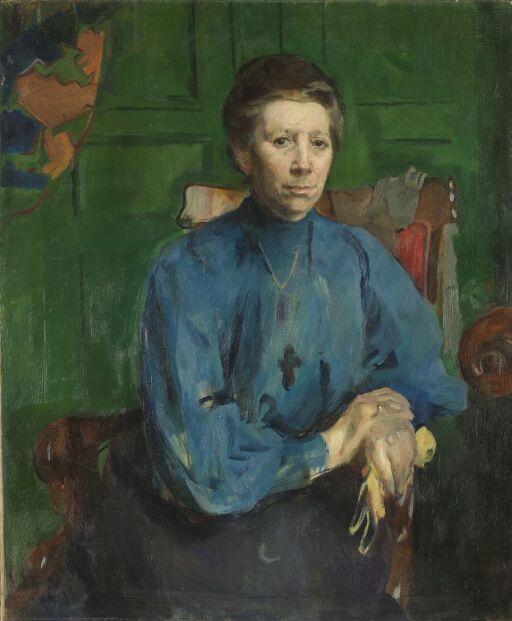 Fru Vedastine Aubert, f. Moe