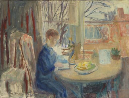 Interior with a Boy