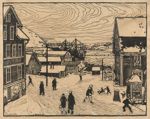 Lønboms plass, Kirkenes