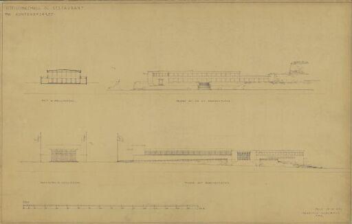 Forslag til en utstillings- og restaurantbygning