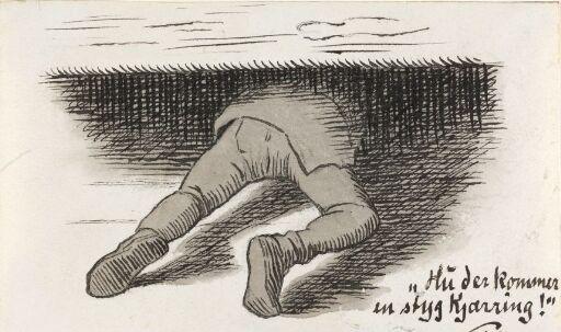 "Mor der kommer en kjærring. Til ""Svartedauen"", 1900"