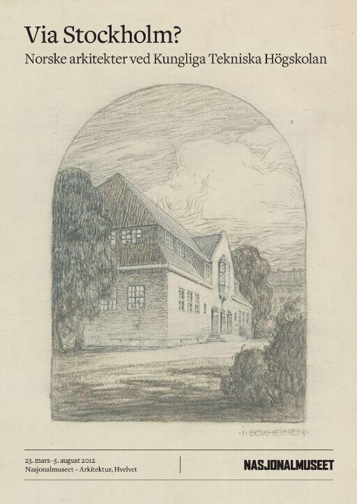 Via Stockholm? Norske arkitekter ved Kungliga Tekniska Högskolan