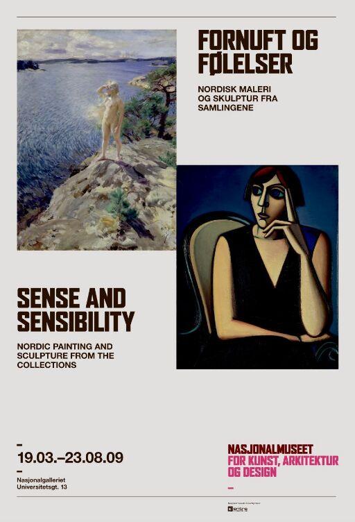 Fornuft og Følelser. Nordisk maleri og skulptur fra samlingene