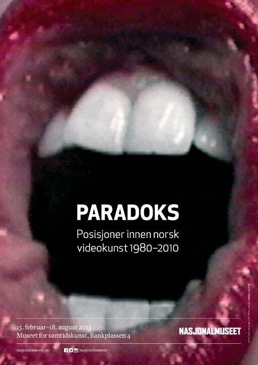 PARADOKS. Posisjoner innen norsk videokunst 1980-2010