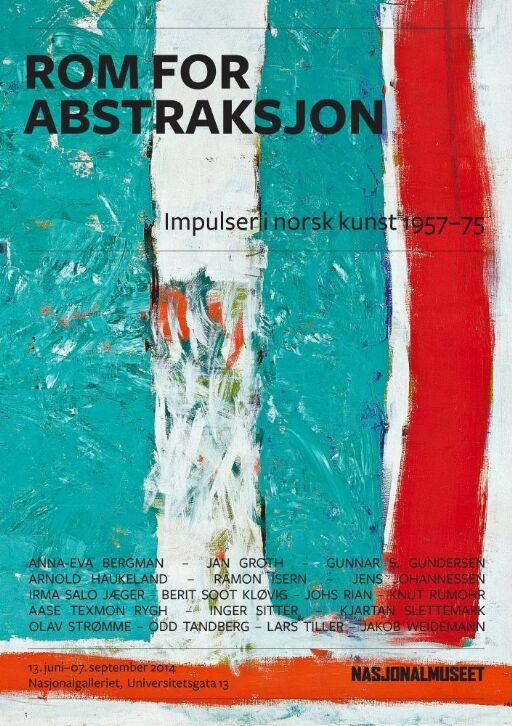Rom for abstraksjon. Impulser i norsk kunst 1957-75